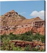 08.03.14 Palo Duro Canyon Rojo Grande Trail 10e Canvas Print