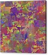 0866 Abstract Thought Canvas Print