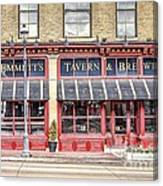 0875 Emmett's Tavern And Brewing Company Canvas Print