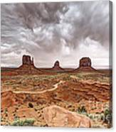 0883 Monument Valley Canvas Print