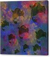 0885 Abstract Thought Canvas Print