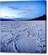 0919 Badwater Basin Canvas Print