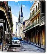 0928 St. Louis Cathedral - New Orleans Canvas Print