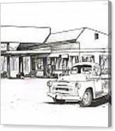 095b-truck Canvas Print