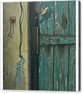 0ld Door Canvas Print