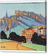 Edinburgh  General View        Date Canvas Print