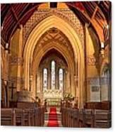St Giles Shipbourne Canvas Print