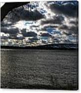 001 Grand Island Bridge Series Canvas Print