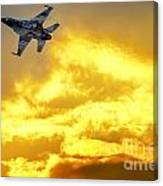 1-iaf F-16i Fighter Jet Canvas Print