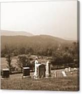 101708-1   On A Hillside In Pennsylvania Canvas Print