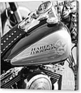 110th Anniversary Harley Davidson Canvas Print