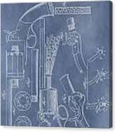 1856 Revolver Patent Canvas Print