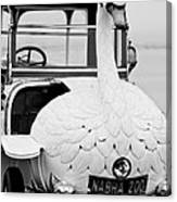 1910 Brooke Swan Car Canvas Print