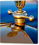 1922 Studebaker Touring Hood Ornament 3 Canvas Print