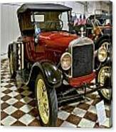 1926 Ford Model T Roadster Canvas Print