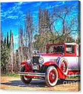 1929 Graham-paige Roadster Canvas Print