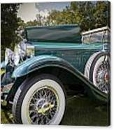 1929 Isotta Fraschini Tipo 8a Convertible Sedan Canvas Print