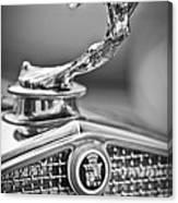 1931 Cadillac 355 Hood Ornament Canvas Print