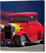 1931 Ford 'model A' Coupe Canvas Print