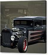 1931 Ford Sedan Hot Rod Canvas Print
