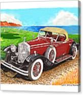 Rolls Royce Henley Roadster Canvas Print