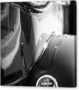 1932 Auburn Twelve Custom Phaeton Taillight Emblem Canvas Print