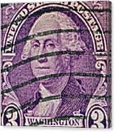 1932 George Washington Stamp Canvas Print