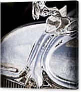 1933 Chrysler Imperial Hood Ornament - Emblem Canvas Print