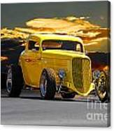 1933 Ford Hiboy Coupe Canvas Print