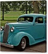 1936 Chevrolet Sedan Hot Rod Canvas Print