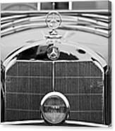 1936 Mercedes-benz 540k Mayfair Special Roadster Canvas Print