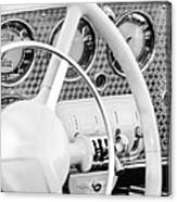 1937 Cord 812 Phaeton Dashboard Instruments Canvas Print