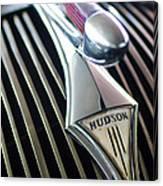 1937 Hudson Terraplane Sedan Hood Ornament Canvas Print