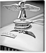 1937 Railton Rippon Brothers Special Limousine Hood Ornament Canvas Print