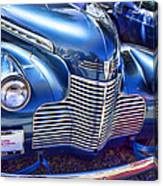 1940 Chevy Grill Canvas Print