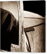1940 Ford Hood Ornament Canvas Print