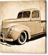 1940 Ford Pickup Canvas Print