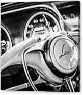 1941 Lincoln Continental Coupe Steering Wheel Emblem -0858c Canvas Print