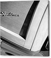 1947 Ford Super Deluxe Sportsman Convertible Taillight Emblem Canvas Print