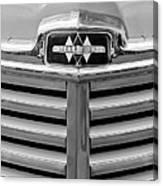 1948 International Hood Emblem Canvas Print