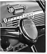 1950 Chevrolet 3100 Pickup Truck Steering Wheel Canvas Print