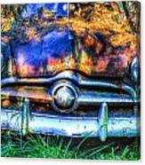 1950 Ford To Be Reconditioned Canvas Print