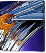 1950 Pontiac Hood Ornament Canvas Print