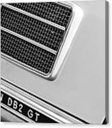 1951 Aston Martin Db2 Coupe Side Emblem Canvas Print
