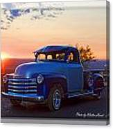 1951 Chevy Pick Up Canvas Print