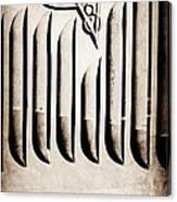 1951 Mercury Custom Emblem Canvas Print