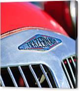 1952 Frazer-nash Le Mans Replica Mkii Competition Model Grille Emblem Canvas Print