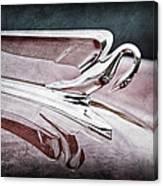 1952 Packard 400 Hood Ornament Canvas Print