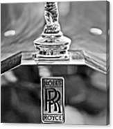 1952 Rolls-royce Hood Ornament Canvas Print