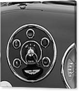 1953 Aston Martin Db2-4 Bertone Roadster Instrument Panel Canvas Print